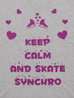 Koszulka Keep Calm And Skate Synchro (2)